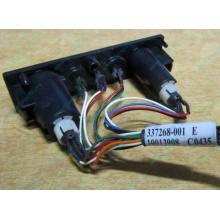 HP 224998-001 в Королеве, кнопка включения питания HP 224998-001 с кабелем для сервера HP ML370 G4 (Королев)