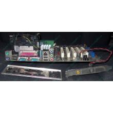 Материнская плата Asus P4PE (FireWire) с процессором Intel Pentium-4 2.4GHz s.478 и памятью 768Mb DDR1 Б/У (Королев)